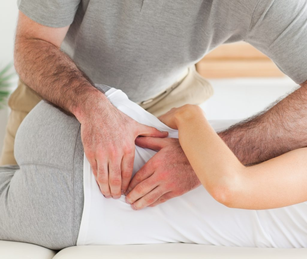 Photo of chiropractor spinal manipulation