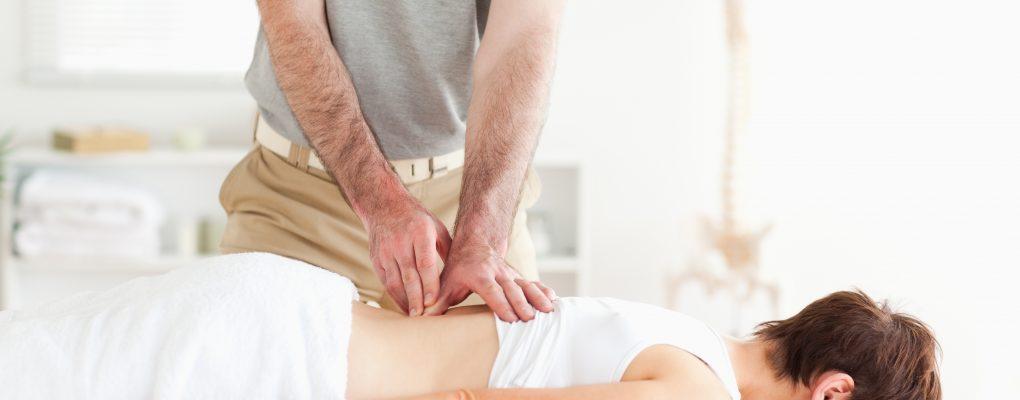 Photo of women receiving chiropractic treatment